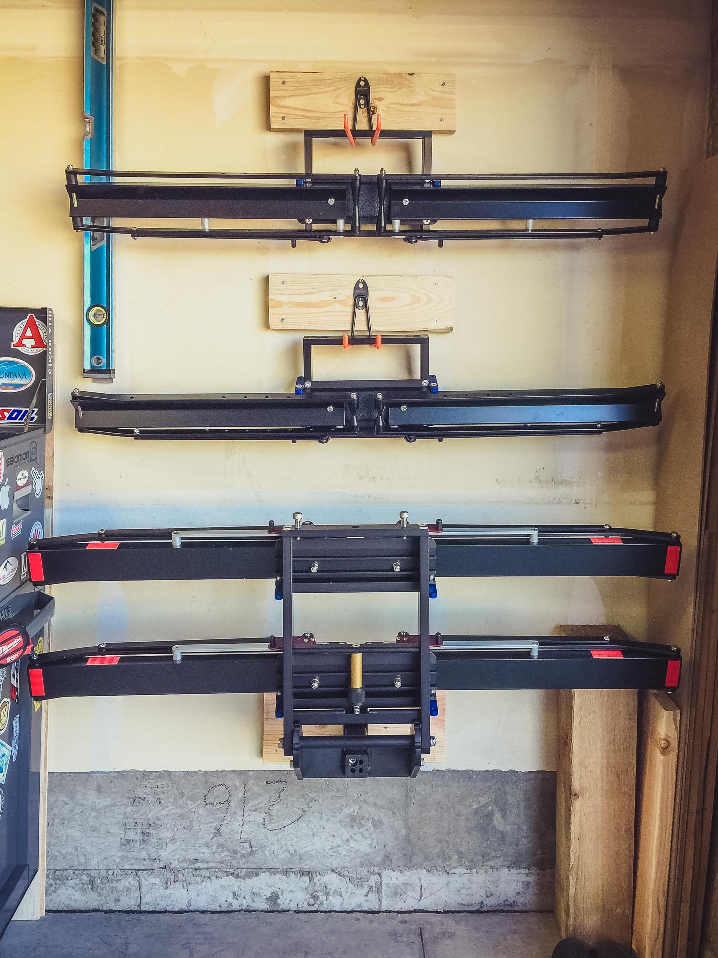 The Base Rack Bottom And Two Add On Racks Above Easily D In Garage